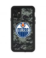 Edmonton Oilers Camo iPhone 11 Waterproof Case