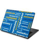 Los Angeles Chargers - Blast Dell Chromebook Skin