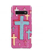 Faith Crosses Galaxy S10 Plus Lite Case