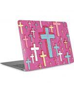 Faith Crosses Apple MacBook Air Skin