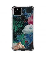 Fall Flowers Google Pixel 5 Clear Case