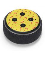 Yellow Spring Amazon Echo Dot Skin