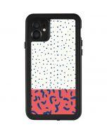 Polka Dot Split iPhone 11 Waterproof Case