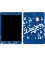 Los Angeles Dodgers - Primary Logo Blast Apple iPad Air Skin
