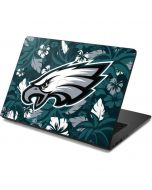 Philadelphia Eagles Tropical Print Dell Chromebook Skin