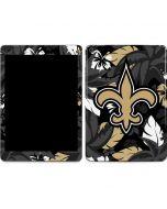 New Orleans Saints Tropical Print Apple iPad Air Skin
