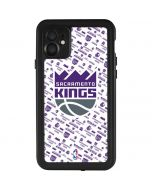 Sacramento Kings History Logo Blast iPhone 11 Waterproof Case