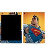 Superman Cartoon Apple iPad Air Skin