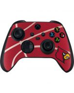 Louisville Red Basketball Xbox Series X Controller Skin