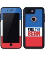 Feel The Bern iPhone 8 Plus Waterproof Case
