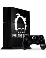 Feel The Bern Outline PS4 Console and Controller Bundle Skin