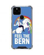 Feel The Bern Unicorn Google Pixel 5 Clear Case