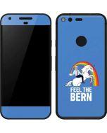 Feel The Bern Unicorn Google Pixel Skin