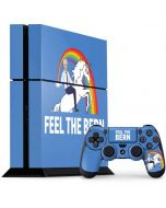Feel The Bern Unicorn PS4 Console and Controller Bundle Skin