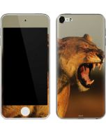 Female African Lion Apple iPod Skin