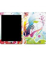 Abstraction White Apple iPad Air Skin