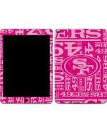 San Francisco 49ers - Blast Pink Apple iPad Air Skin