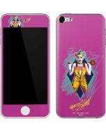 Fierce Harley Quinn Apple iPod Skin
