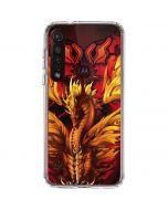 Fire Dragon Moto G8 Plus Clear Case