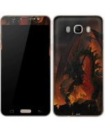 Fireball Dragon Galaxy J7 Skin