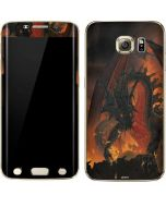Fireball Dragon Galaxy S6 edge+ Skin