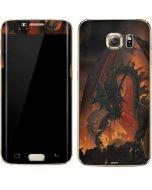 Fireball Dragon Galaxy S7 Edge Skin