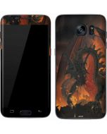 Fireball Dragon Galaxy S7 Skin