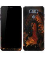 Fireball Dragon LG G6 Skin