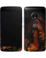 Fireball Dragon Moto G5 Plus Skin