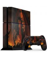 Fireball Dragon PS4 Console and Controller Bundle Skin