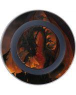 Fireball Dragon Wireless Charger Skin