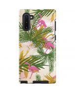 Flamingo Pattern Galaxy Note 10 Pro Case