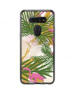Flamingo Pattern LG K51/Q51 Clear Case