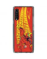 Flash Racer LG Velvet Clear Case