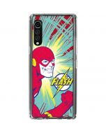 Flash Smile Blast LG Velvet Clear Case