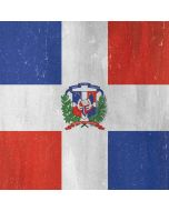 Dominican Republic Flag Distressed Apple iPod Skin