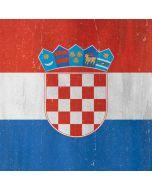 Croatia Flag Distressed Apple iPad Skin