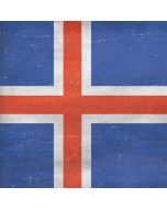 Iceland Flag Distressed Xbox One X Console Skin