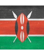Kenya Flag Distressed Dell XPS Skin