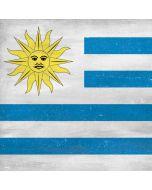 Uraguay Flag Distressed iPhone X Skin