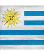 Uraguay Flag Distressed Generic Laptop Skin