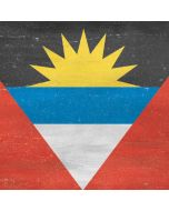 Antigua and Barbuda Flag Distressed LG K51/Q51 Clear Case