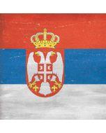 Serbia Flag Distressed Xbox One Console Skin