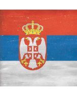 Serbia Flag Distressed Generic Laptop Skin