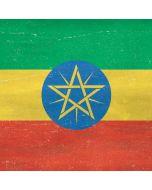 Ethiopia Flag Distressed Apple iPad Skin