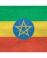 Ethiopia Flag Distressed Generic Laptop Skin