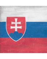 Slovakia Flag Distressed iPhone X Skin