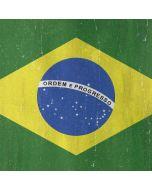 Brazil Flag Distressed LG K51/Q51 Clear Case