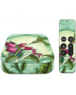 Flirting Fairy and Hummingbird Apple TV Skin