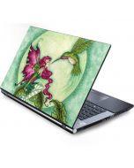 Flirting Fairy and Hummingbird Generic Laptop Skin